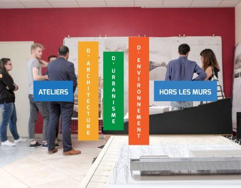 Etudiants en architecture «hors les murs»: Berg & Coiron, 2ème saison<br><p class=