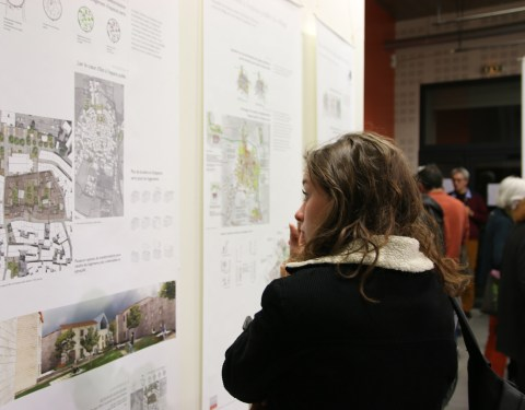 Exposition: Revivre en centre-bourg<br><p class=