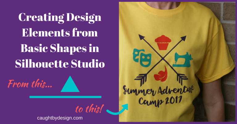 """How to """"Draw"""" Using Basic Shapes in Silhouette Studio"""