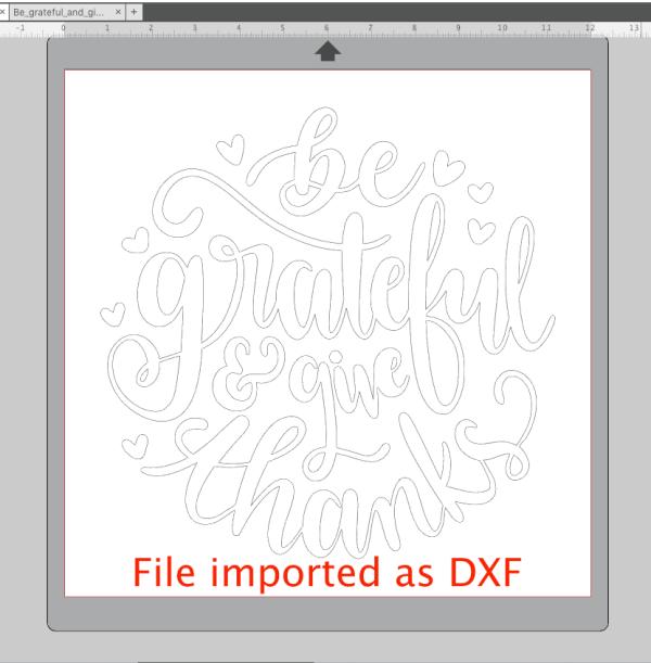 Import DXF