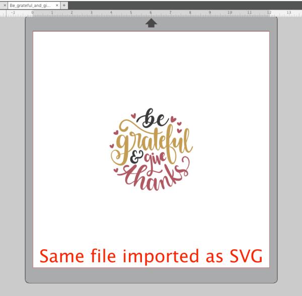 Import SVG