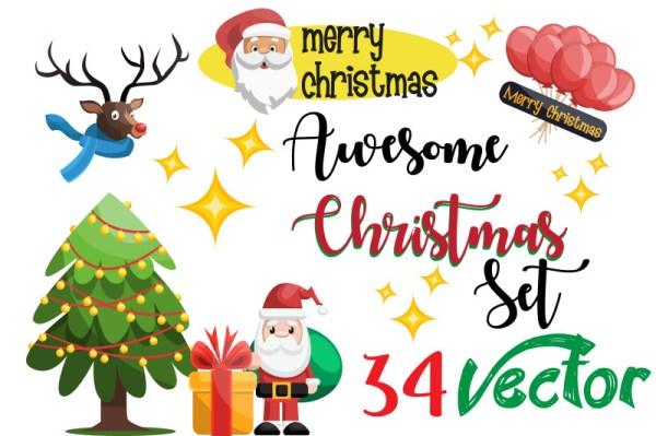 Christmas Illustrations Promo