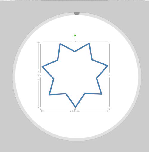 Compound Path Star - Silhouette Studio