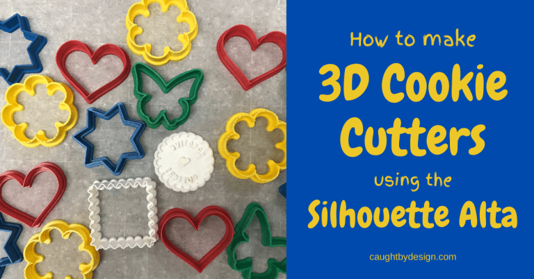 3D Cookie Cutters Using the Silhouette Alta