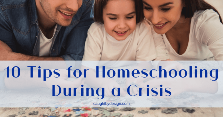 10 Tips for Homeschooling During a Crisis