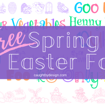 Spring and Easter Fonts