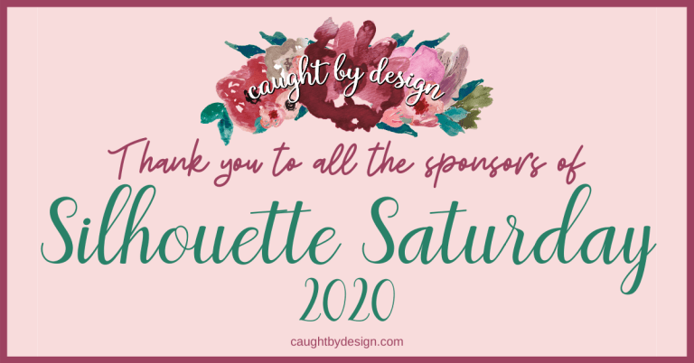 Silhouette Saturday 2020 – Thanking our Sponsors!