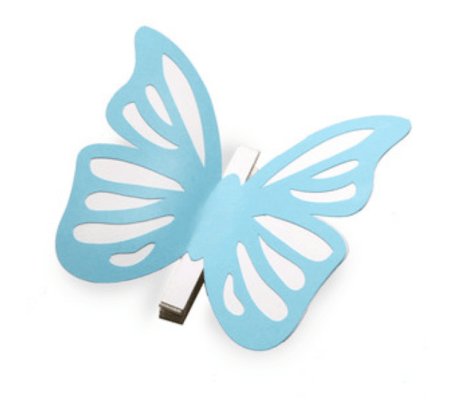 Butterfly Clothes Pin by Mini Lou, Silhouette Design Store
