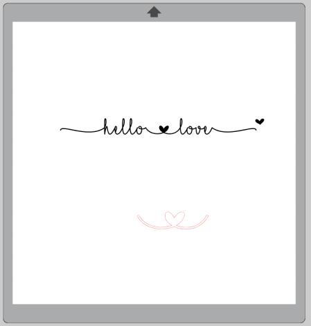I Love Glitter Font