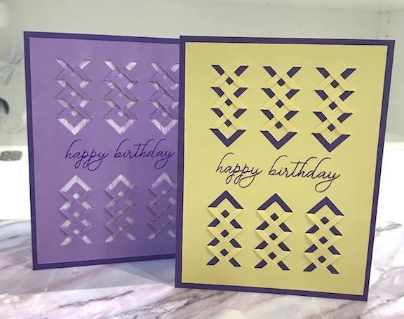 Fold & Tuck cards
