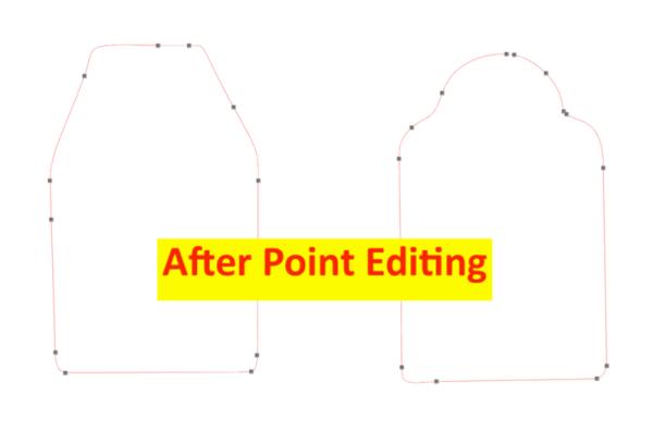Silhouette Studio Point Editing