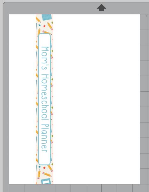 Binder Spine Label