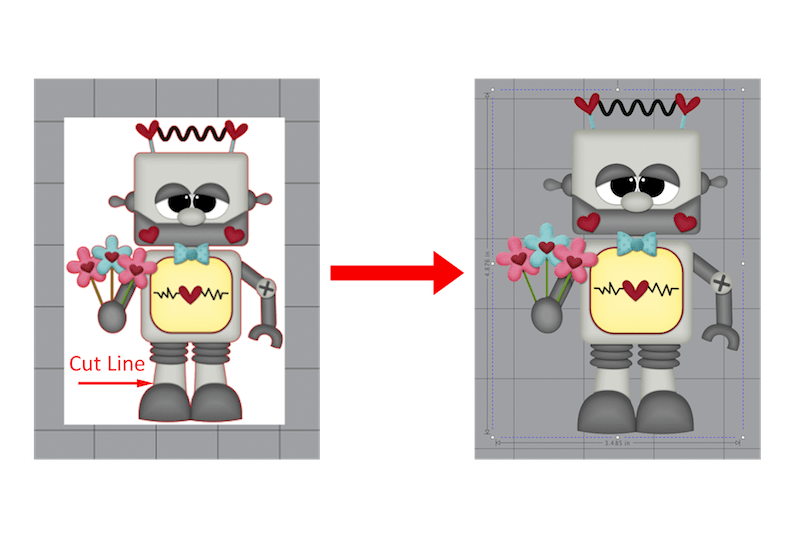 Removing the Background from an Image in Silhouette Studio
