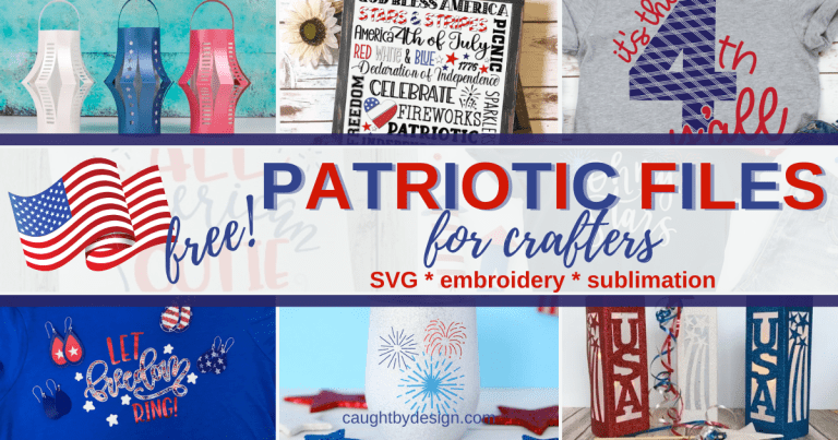 Free Patriotic Files for Crafters