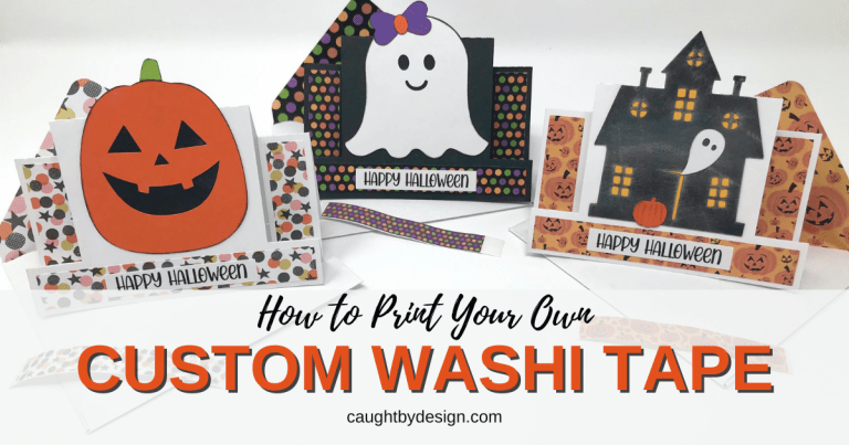How to Print Your Own Custom Washi Tape