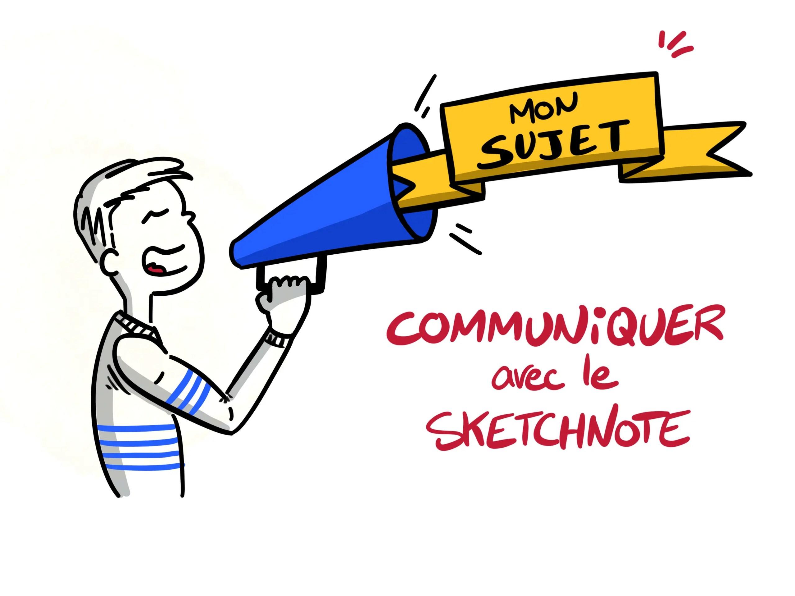 Comment communiquer avec le sketchnote ?