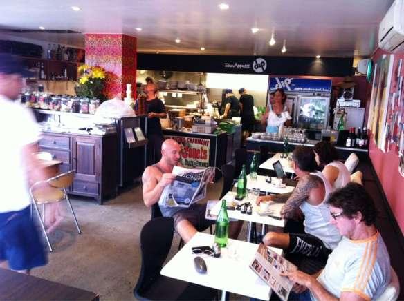 Dip Cafe in Byron Bay