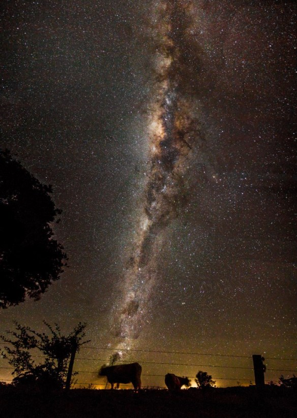 Milky Way over Byron Bay Farm - Image by Sirflife Australia