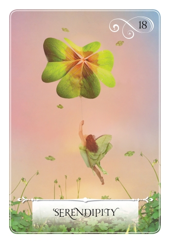Serendipity oracle card, Colette Baron-Reid