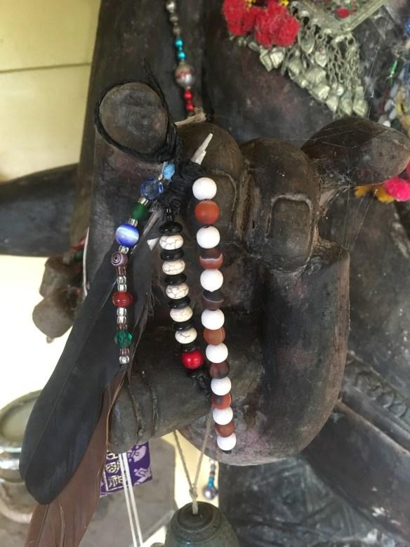 Ganesha with feathers