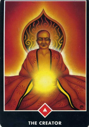 the Creator Osho Zen Tarot