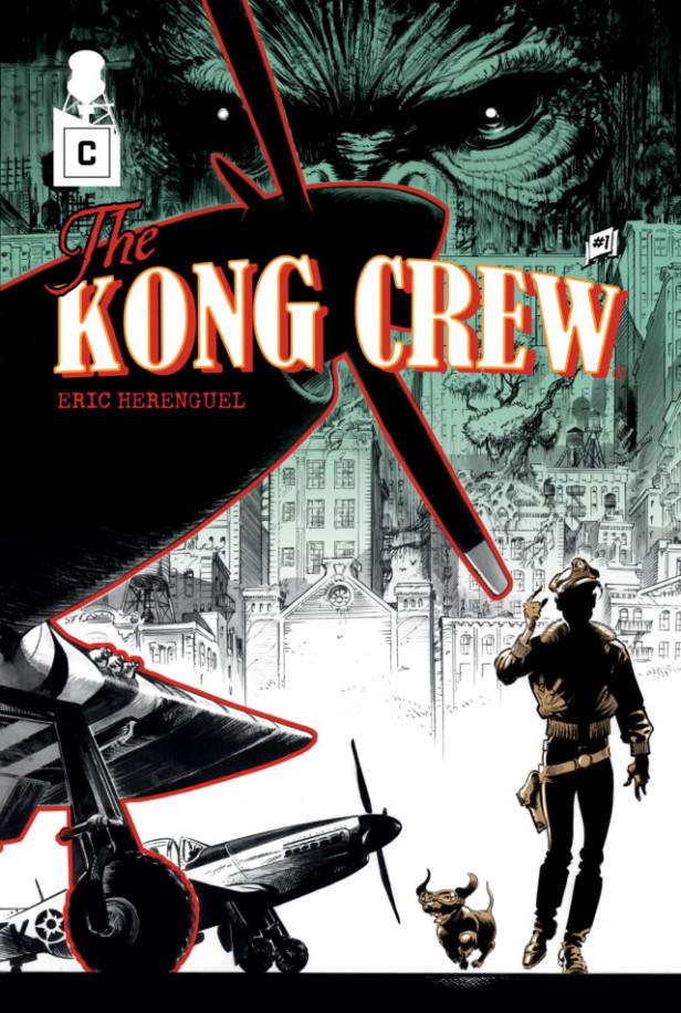 Couverture de The Kog Crew 1 d'Eric Herenguel.