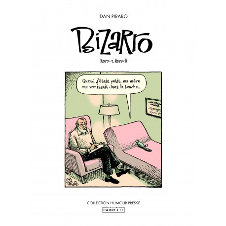Couverture de la bd humoristique Bizarro de Dan Piraro.