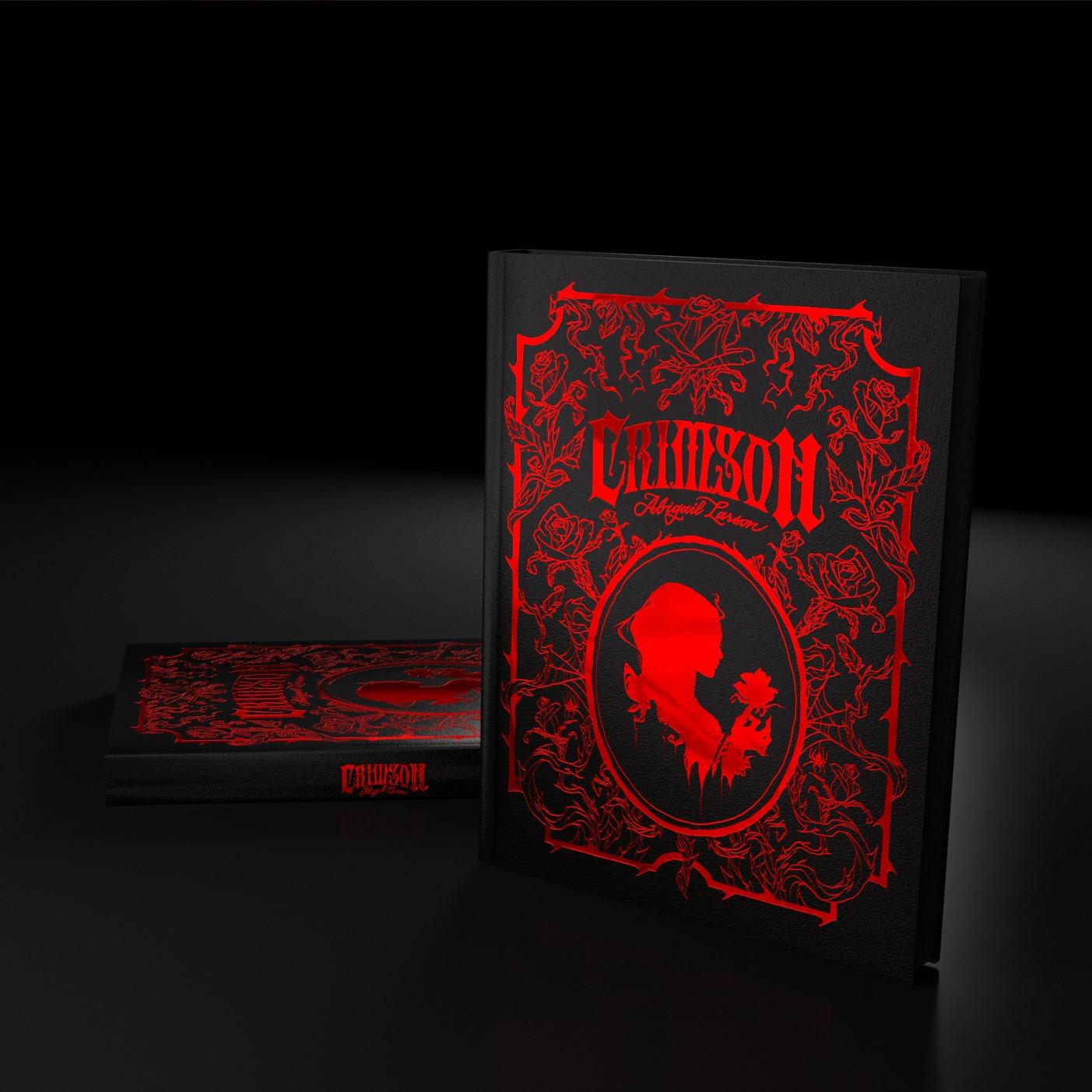 Image de l'artbook Crimson d'Abigail Larson : une photo du livre.