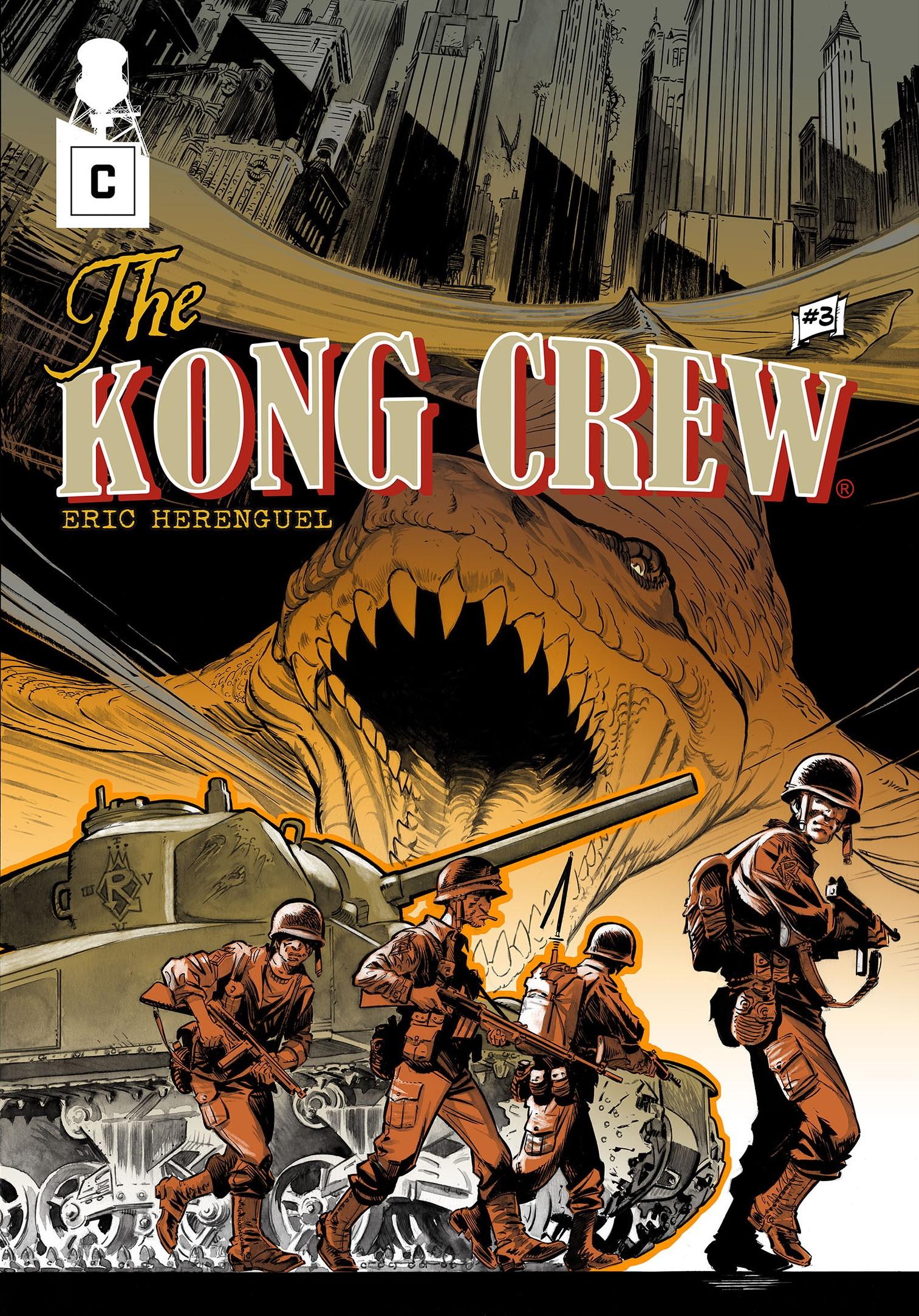 Couverture de Kong Crew 3 d'Eric Herenguel.