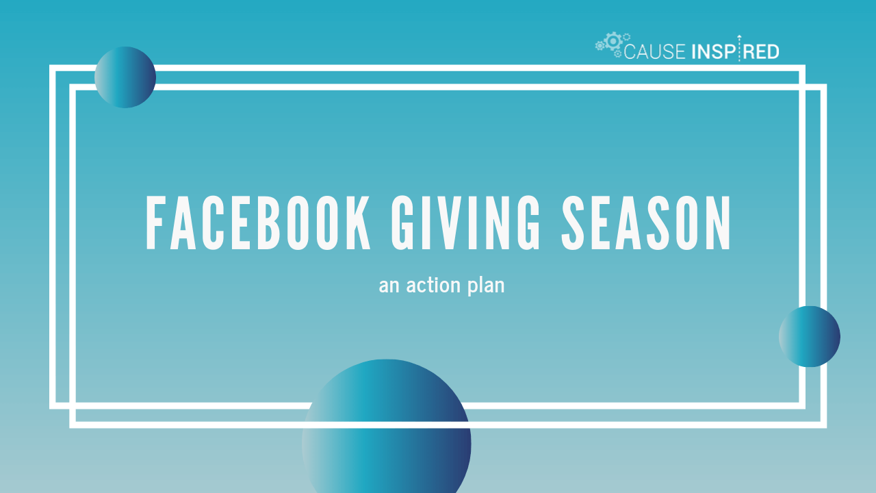 facebook giving season: an action plan