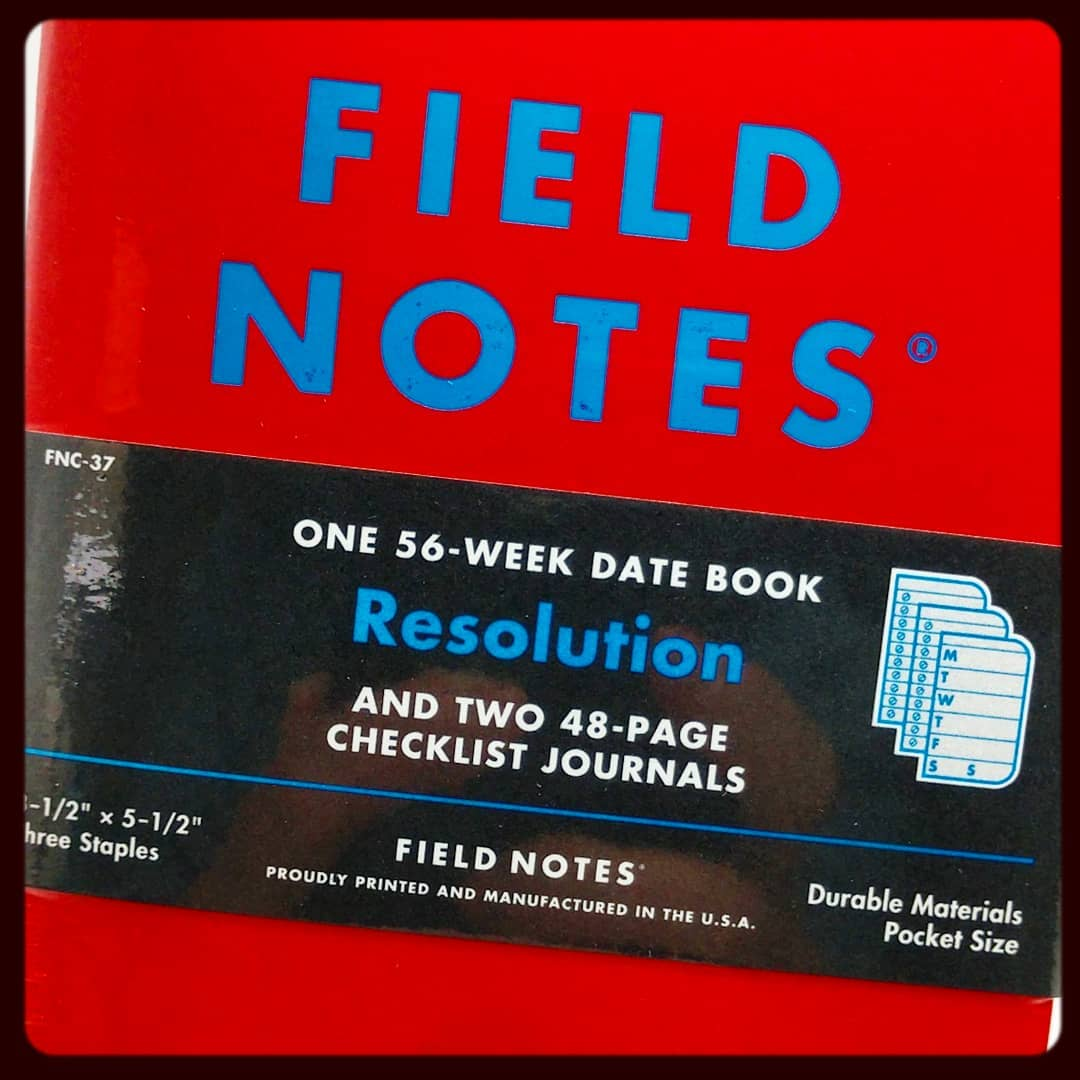 Nope, not a clue! We had no idea that Field Notes sold a task manager! it's a great little tool to get stuff done! We'll have a handful of them available at our kiosk during the @chicagoplannerconference. You can also avoid queueing by pre-ordering for pick up at the event, donate 20% to a charity, and get an extra 25% off your whole purchase! Visit causes.shalafoundation.org for details