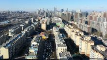 Near the East 4th Ring Road, facing west towards Beijing on 1 December...