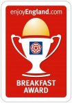 Causeway House are proud to have been awarded the ETB Breakfast Award