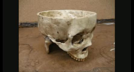 Ed Gein's skull bowl