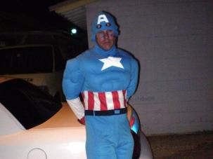 Sad Capt. America