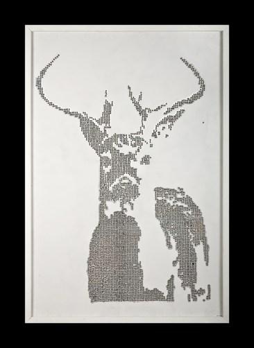 Bullet Art - Deer, by Walter Creel