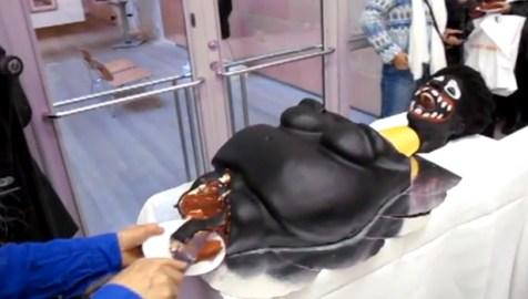golliwog cake