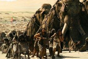 10000 bc movie megafauna mammoth pyramid