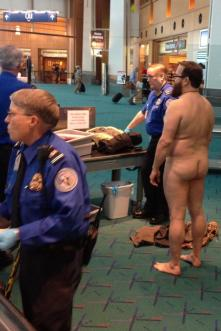 TSA Naked Security Protest