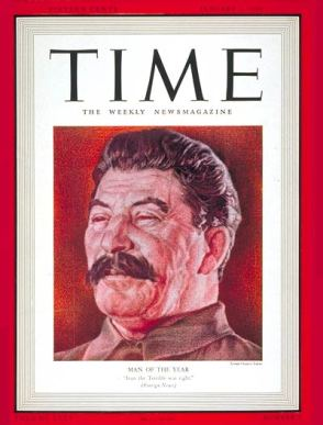 Stalin: Time's Man of the Year 1939