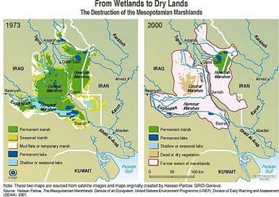 mesopotamian marshlands ecocide