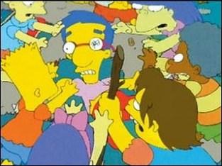 Marooned Simpsons Das Bus Lord of the Flies