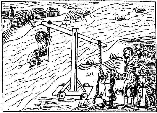 Dunking a witch