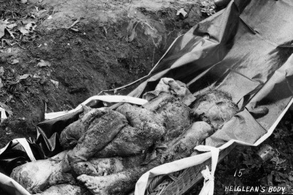 Helgelien's remains