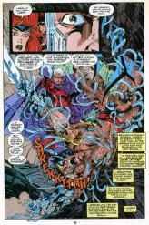 Magneto removes Wolverine's Adamantium