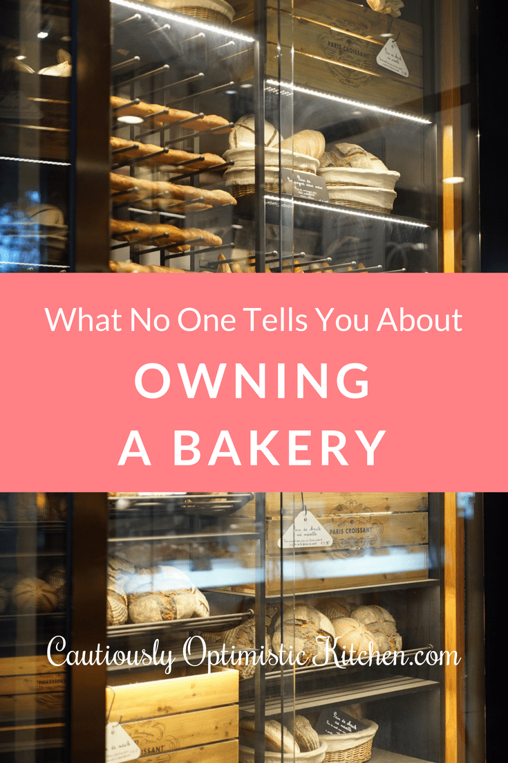Find out what it's like to own a bakery storefront.