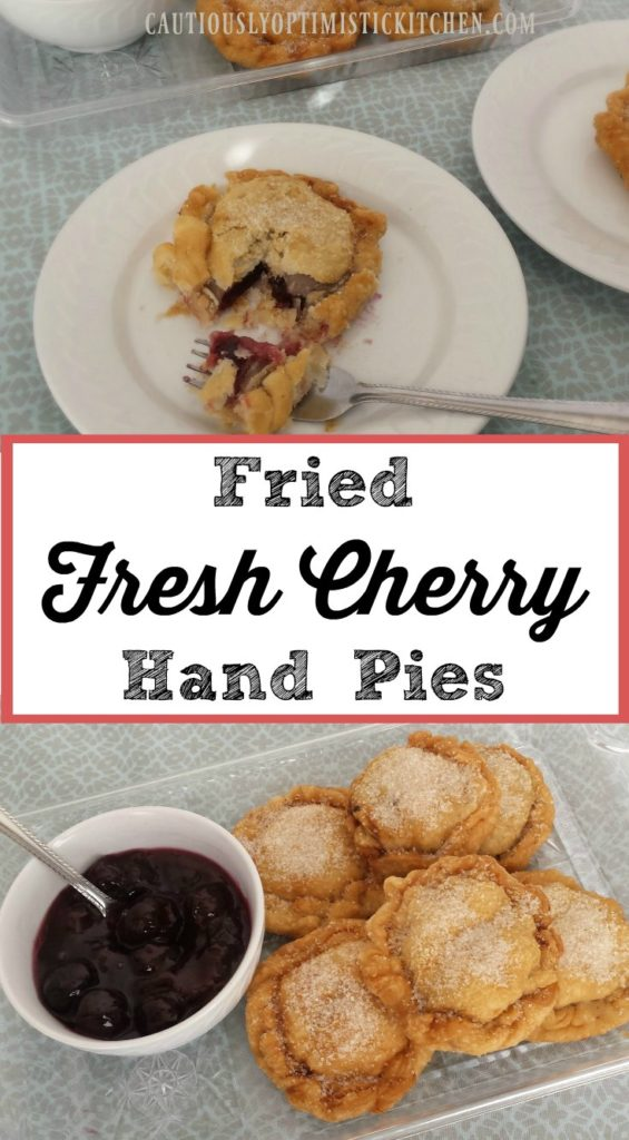 Delicious fried cherry hand pies!