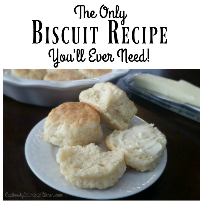 The Only Biscuit Recipe You'll Ever Need