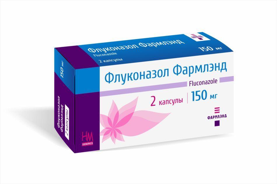 Лечение молочницы у мужчин флуконазолом схема