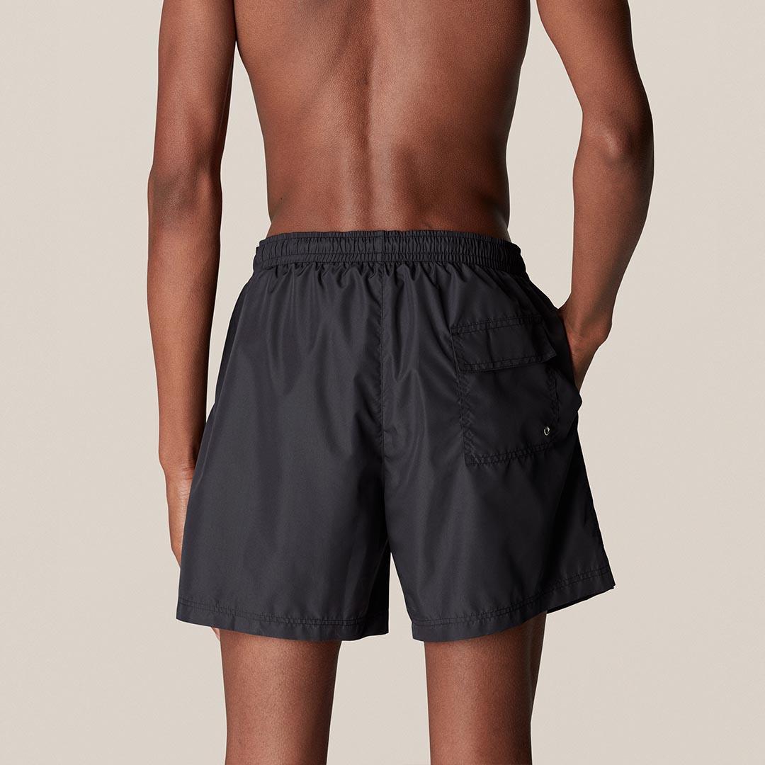 black swim short c